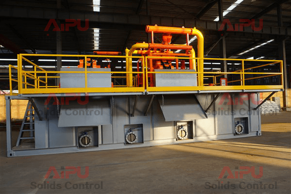 Mud recycling system for hdd